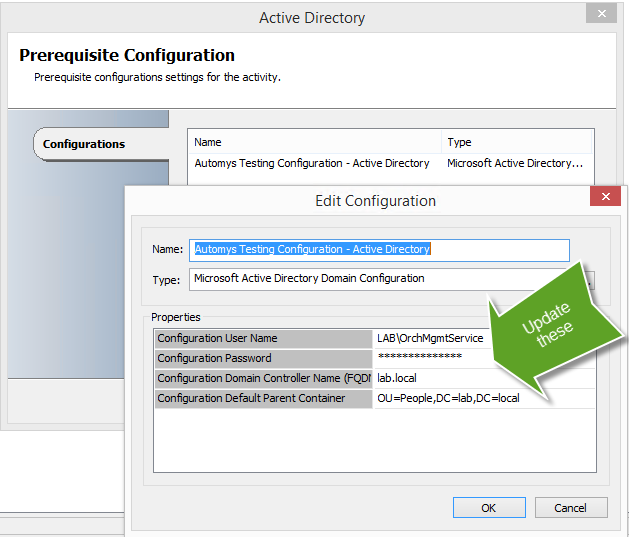 Configuring Orchestrator integrations