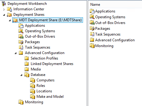 MDT Deployment Share