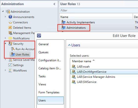 Self-Service VMware Deployment - System Center Service